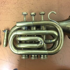 SOLD Brass Trumpet