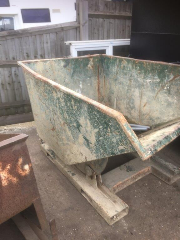 SOLD 2 tipping skips